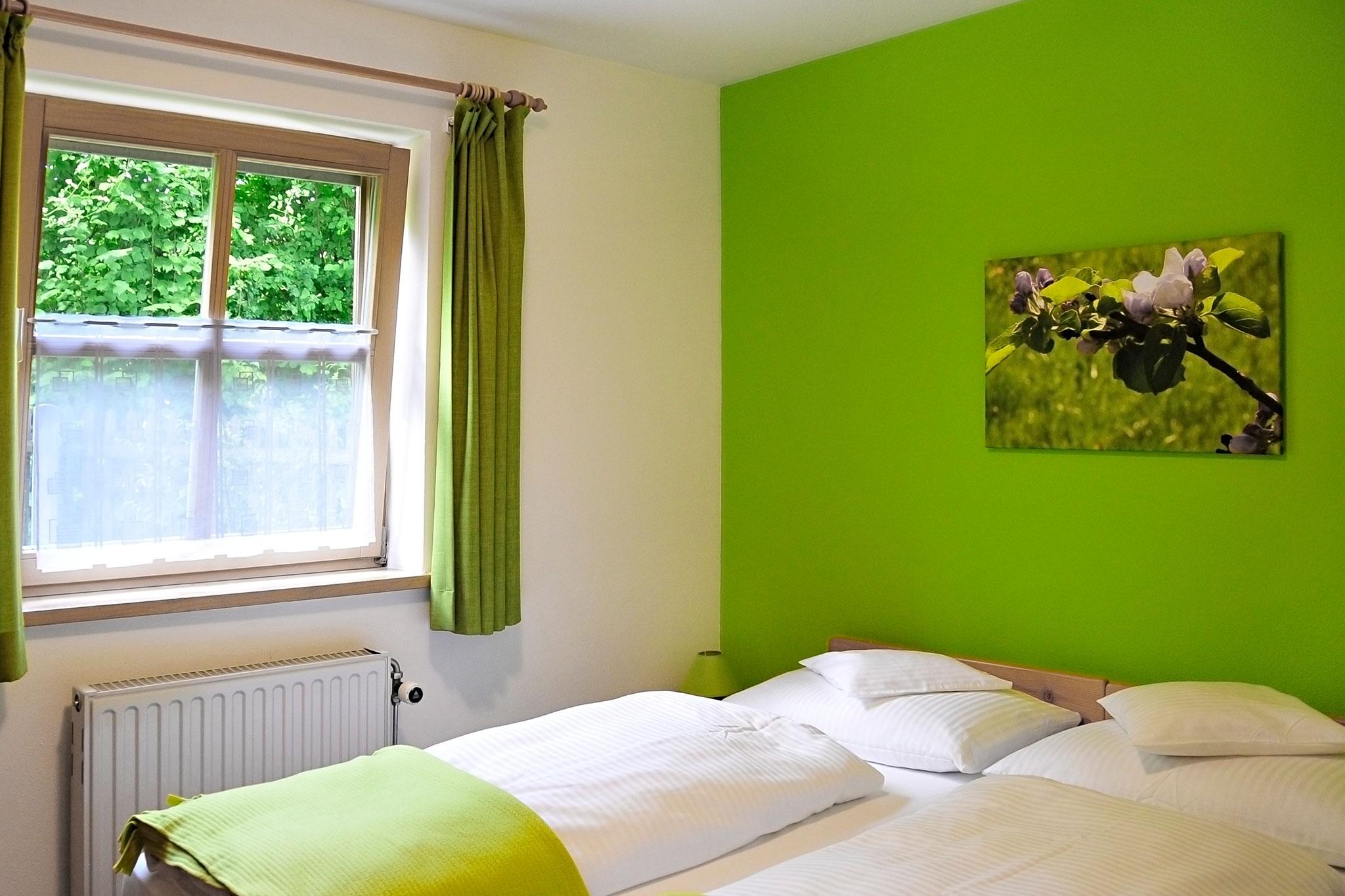 Schlafzimmer Ferienwohnung Auerberg