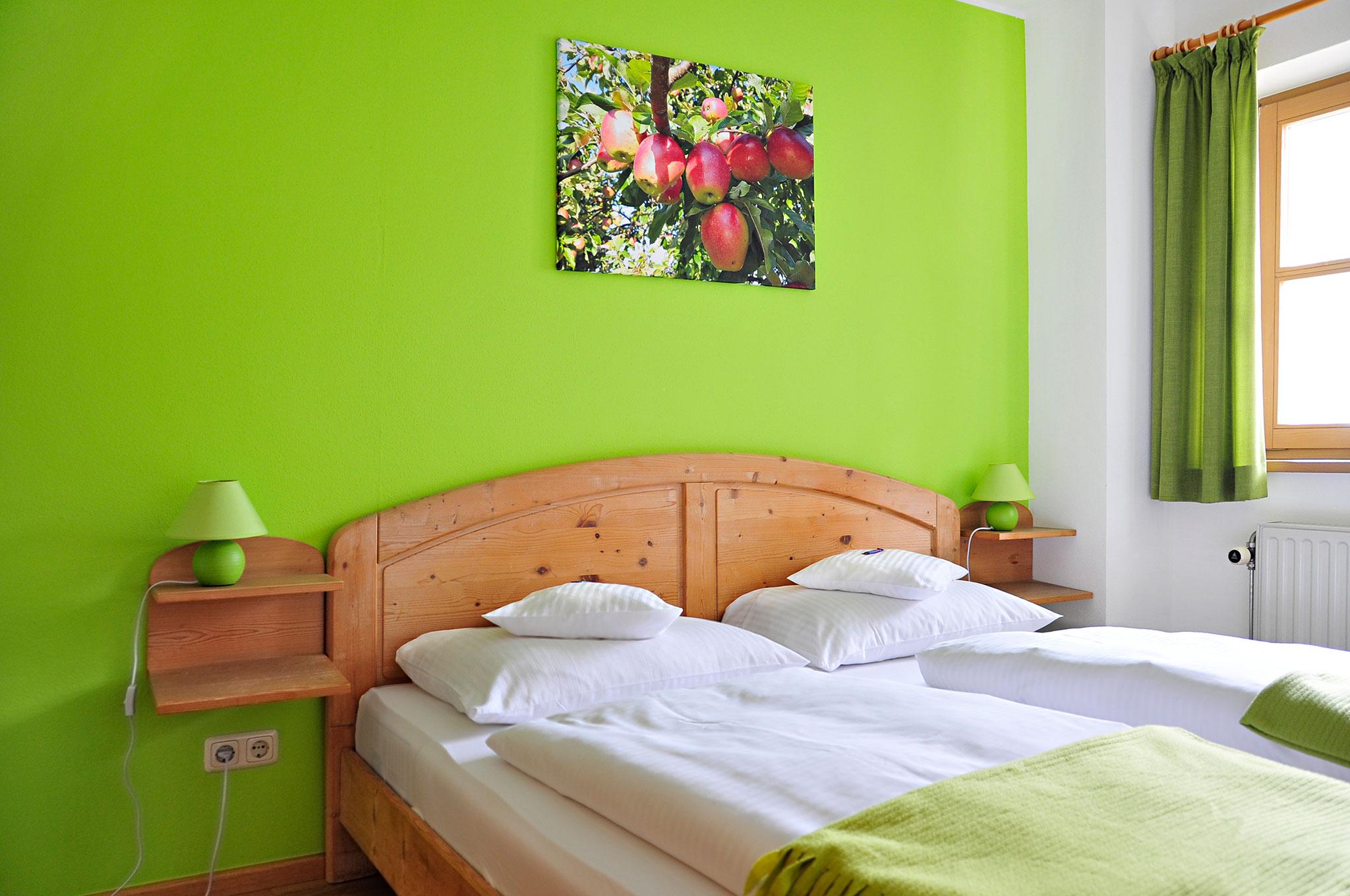Schlafzimmer Ferienwohnung Kranzhorn