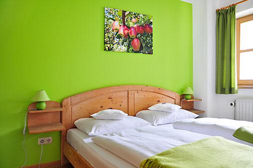 Ferienwohnung Kranzhorn - Schlafzimmer